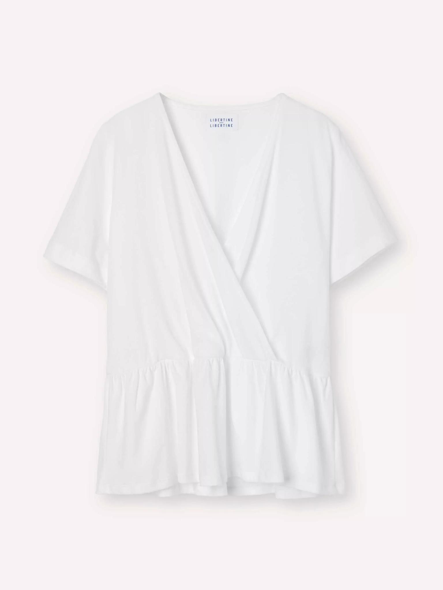 Grace Cotton Blouse White-1