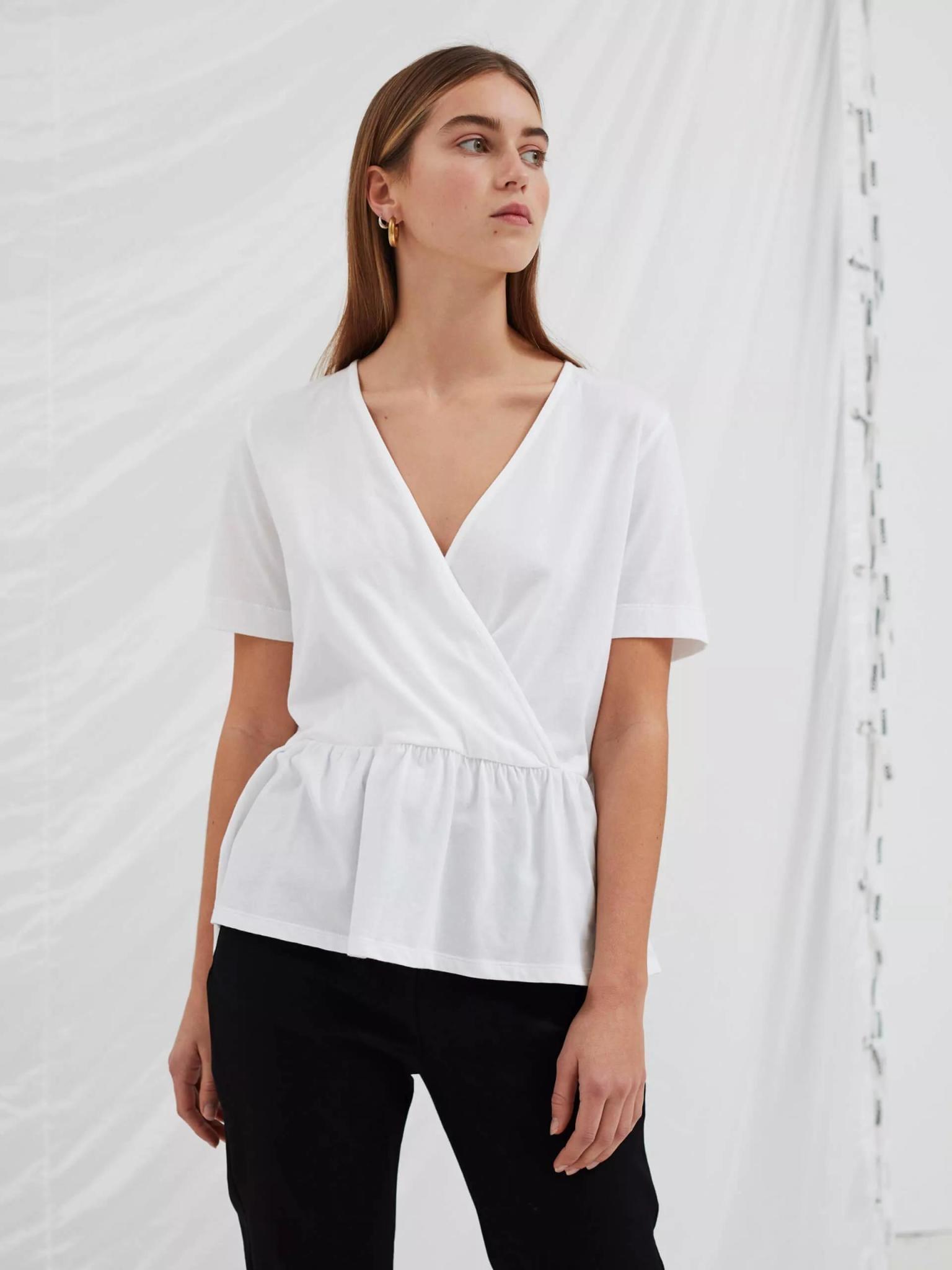 Grace Cotton Blouse White-3