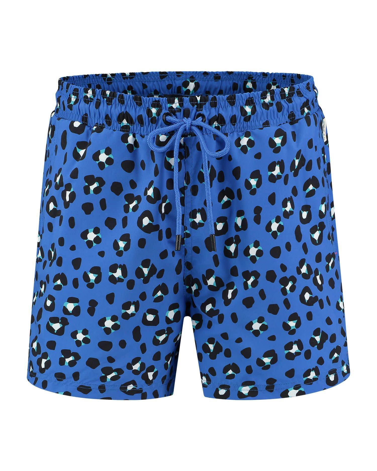 Jente Swimshort Blue-1