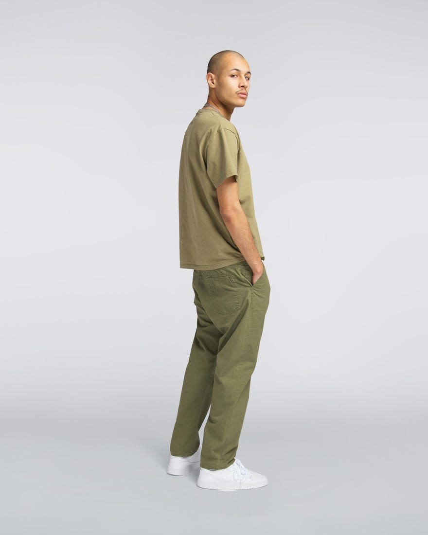 Universe Pant 6.5oz  Military Green Garment Dyed-2