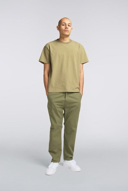 Universe Pant 6.5oz  Military Green Garment Dyed