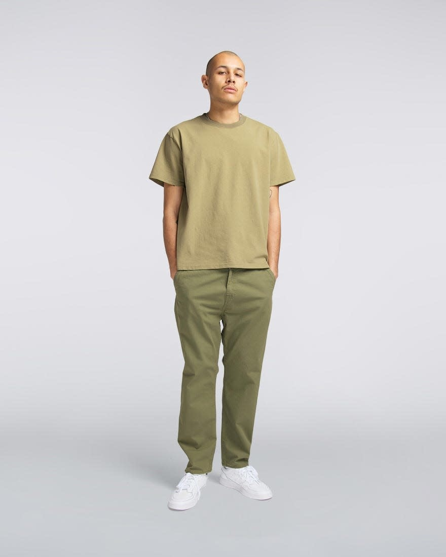 Universe Pant 6.5oz  Military Green Garment Dyed-1