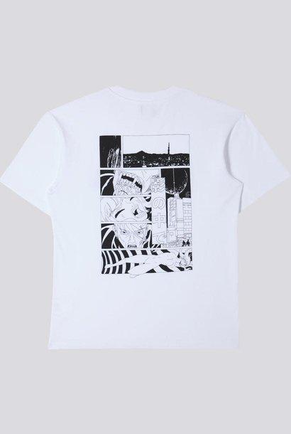 Apollo Thomas Warp Dream T-Shirt Wit