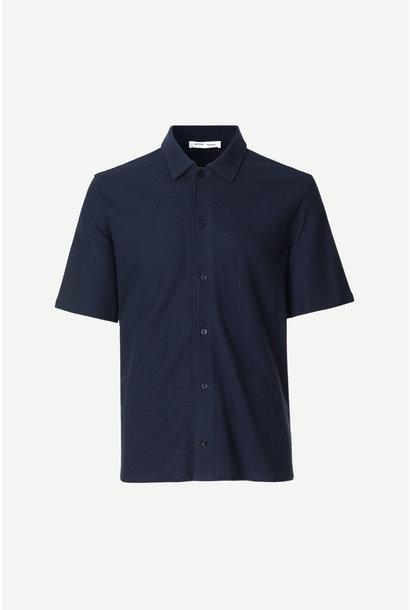 Kvistbro Woven Shirt Night Sky Blue