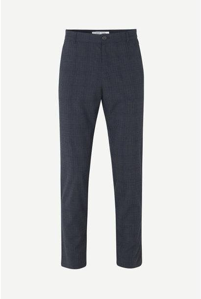 Frankie Regular Fit Blue Checker Pants