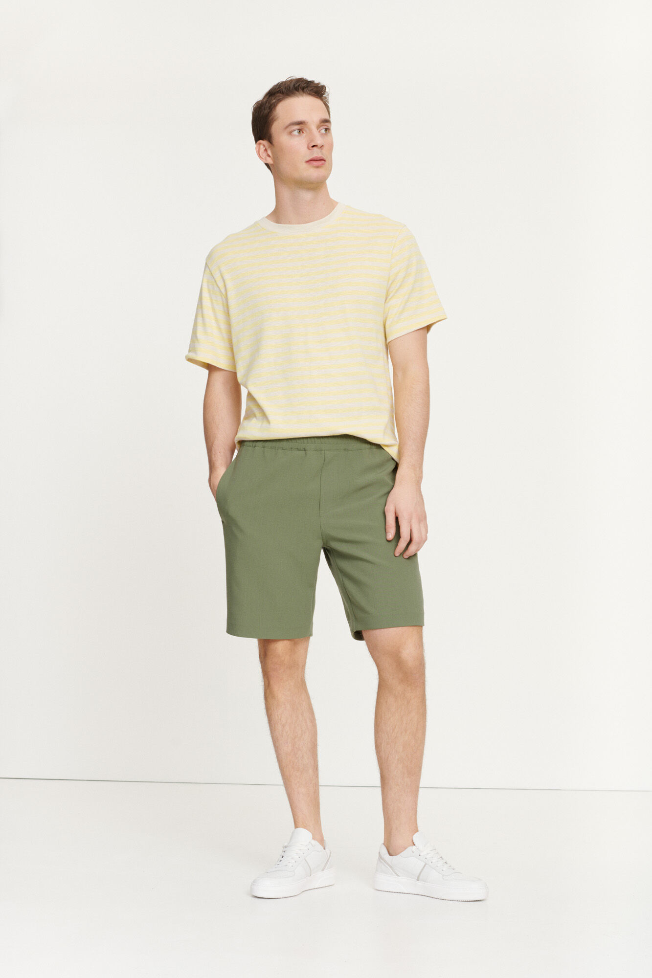 Smith Summer Shorts Thyme Green-1