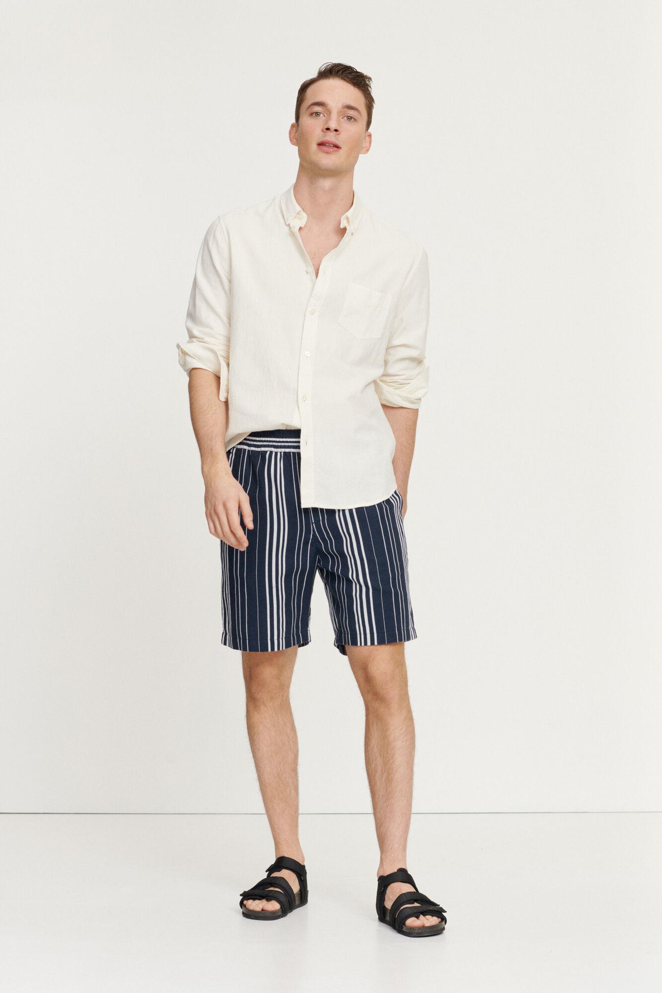 Liam BA Clear Cream Shirt-3