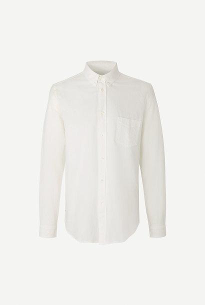 Liam BA helder Crème Wit Overhemd