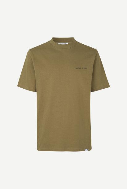 Norsbro Box T-Shirt Gothic Olijfgroen
