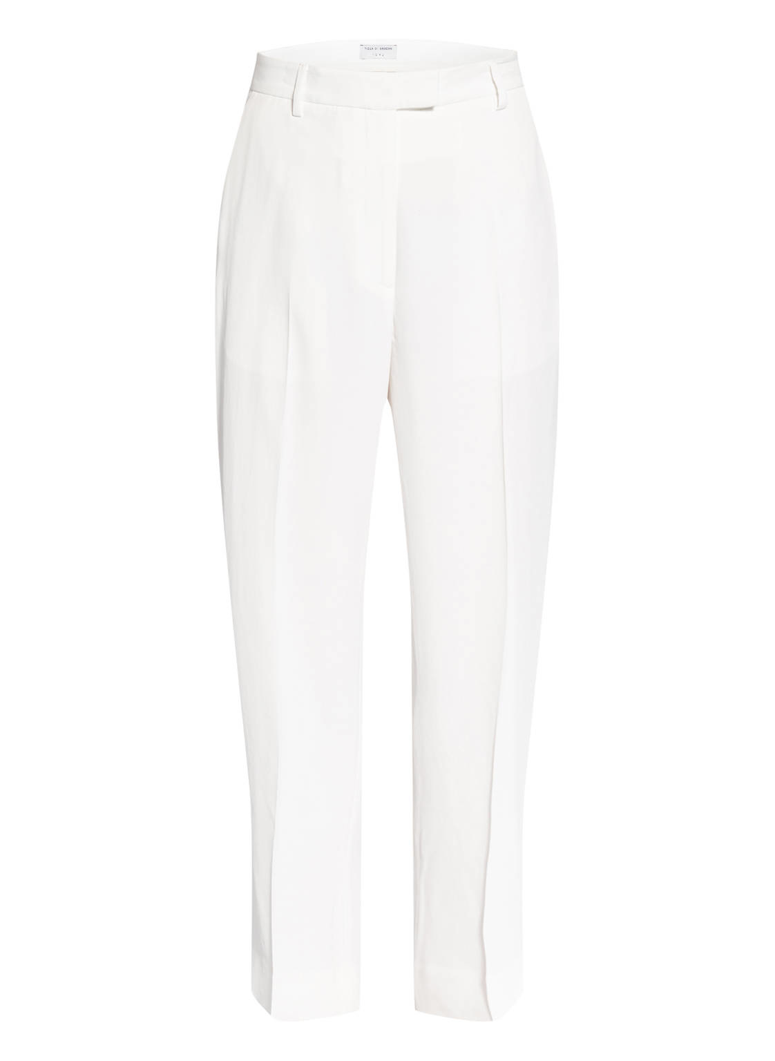 Thera C Wide Pants Pure White-1