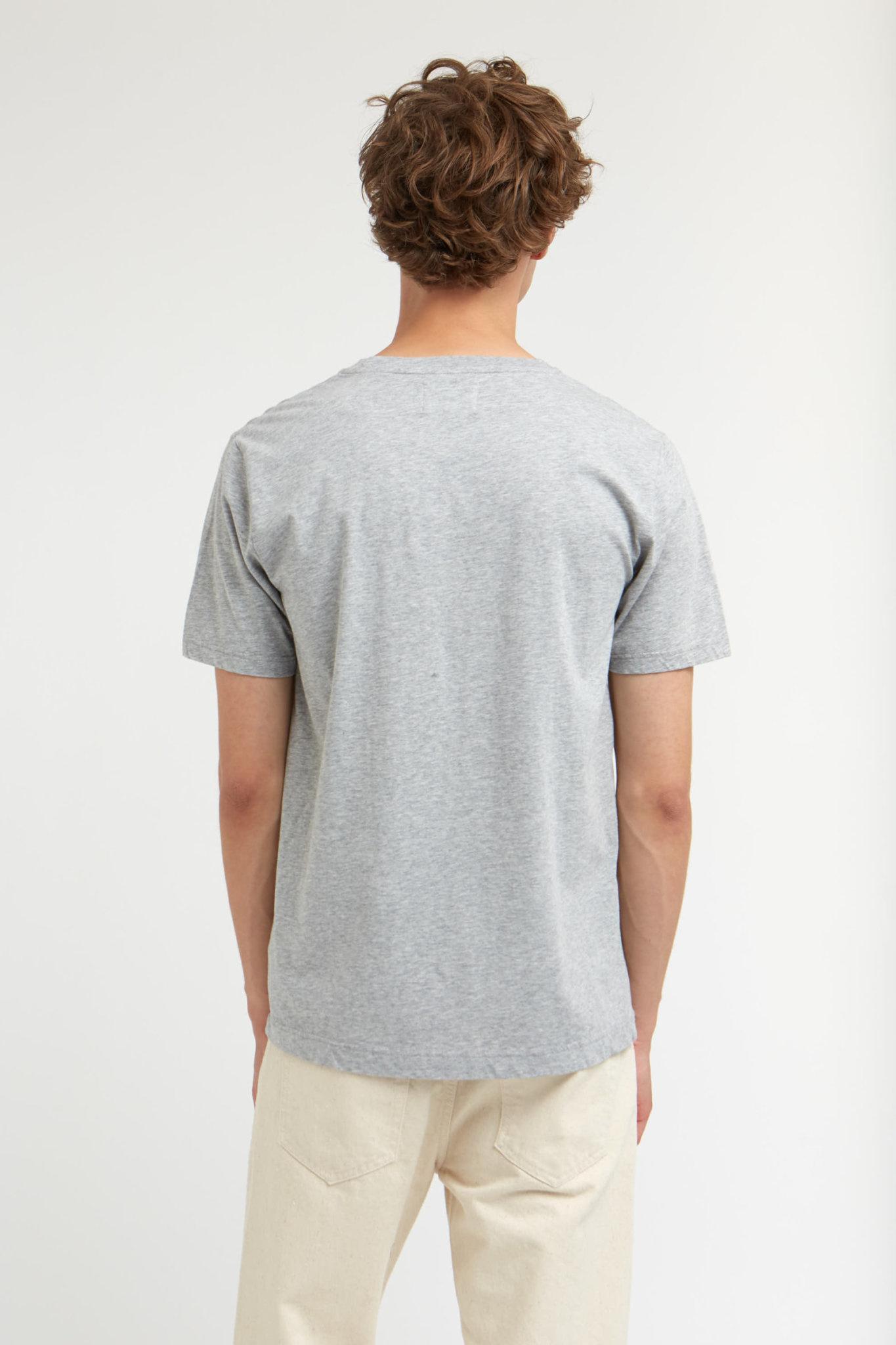 Ace Double A T-Shirt Grey Melange-4