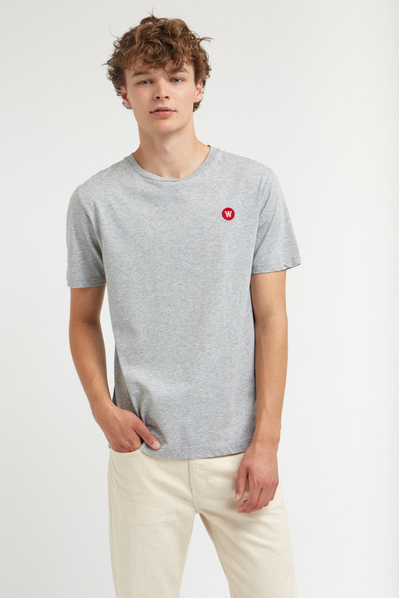 Ace Double A T-Shirt Grey Melange-2