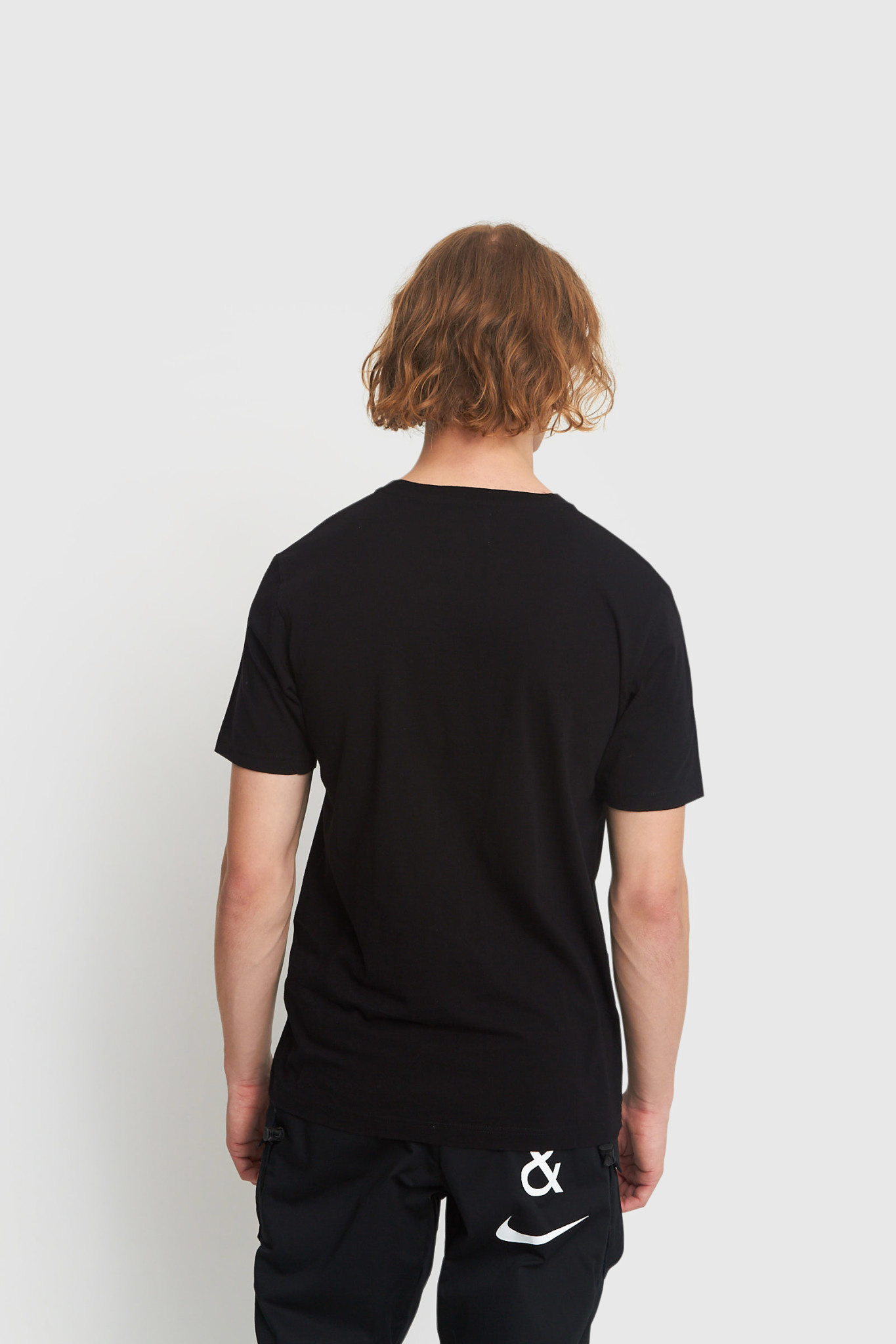 Ace Double A T-Shirt Zwart-2