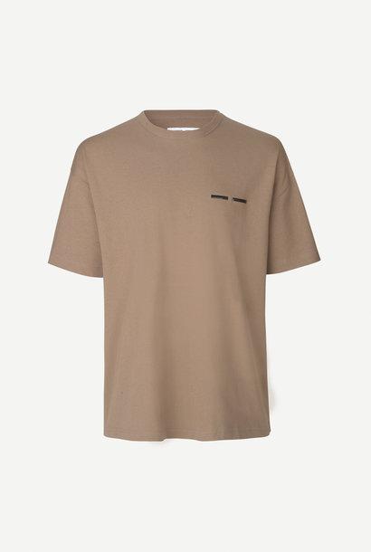 Toscam T-Shirt Shiitake Bruin 11415