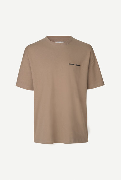Toscan T-Shirt Shiitake Brown 11415