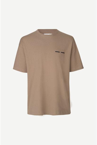 Toscan T-Shirt Shitake Brown 11415