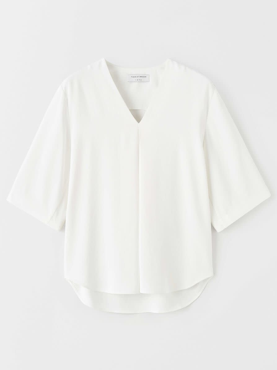 Akasia Blouse Pure White-1