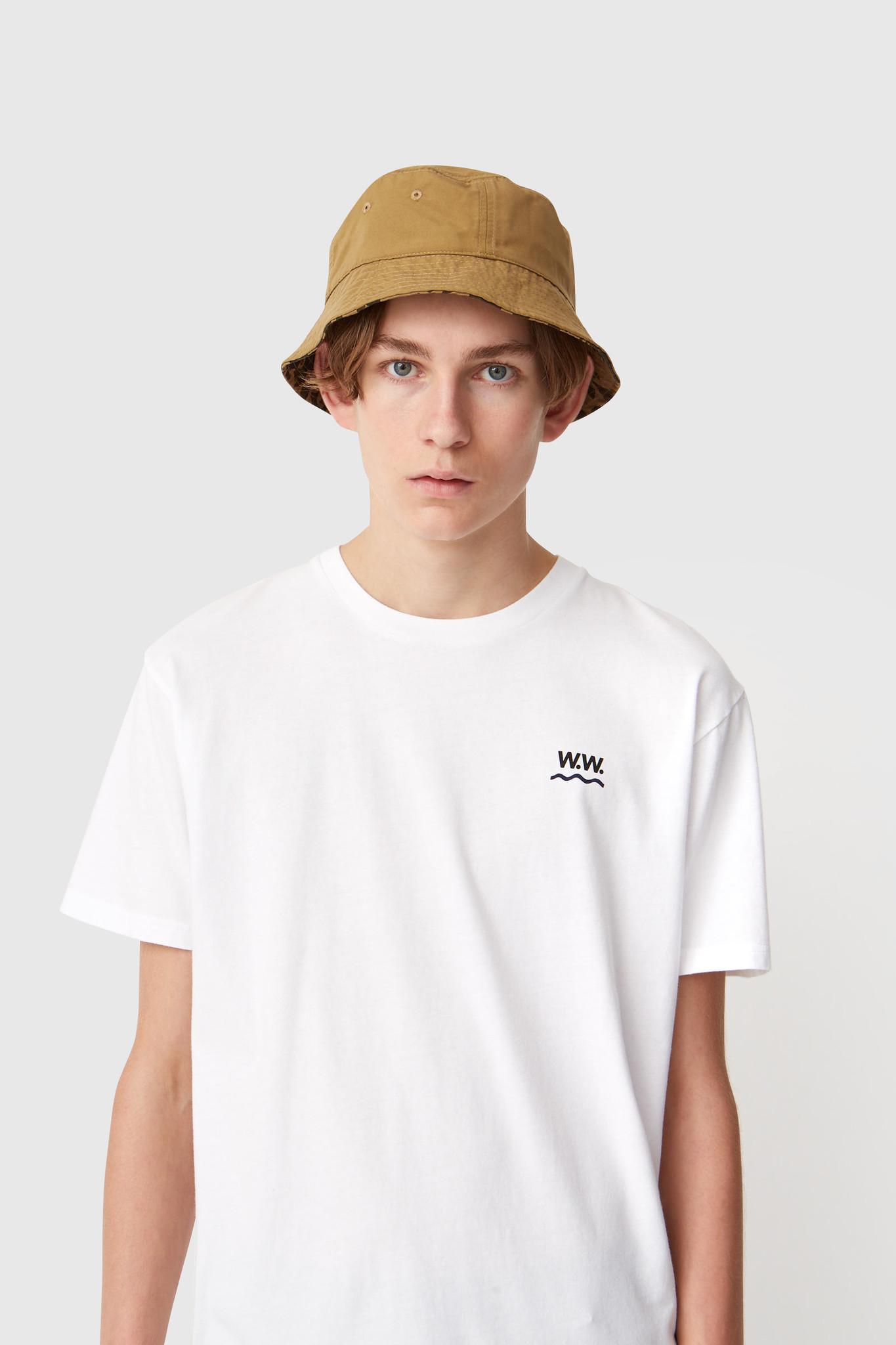 Wave Cotton T-Shirt Bright White-4