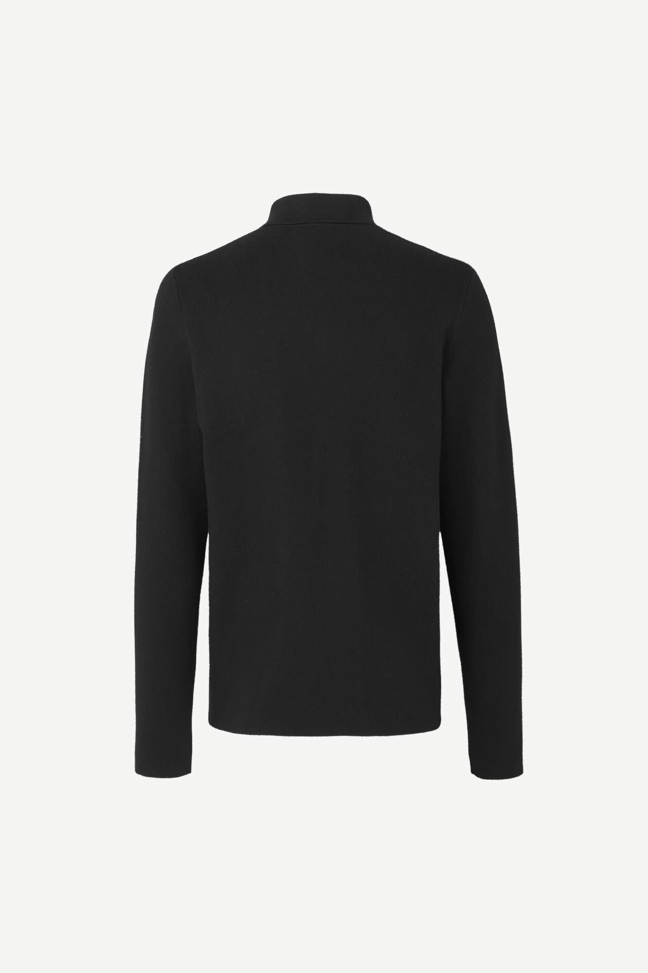 Guna X Zip Knitwear Vest Black 10490-2