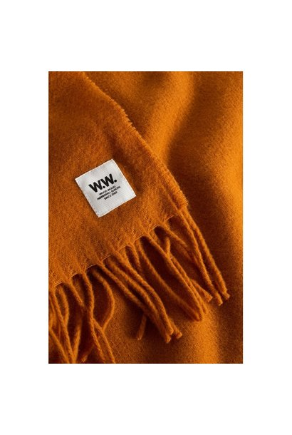 karlo Scarf Wool Orange
