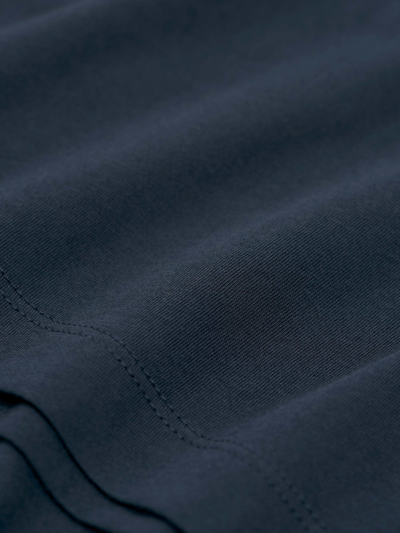 Legacy Cotton R-Neck Light Ink Blue-3