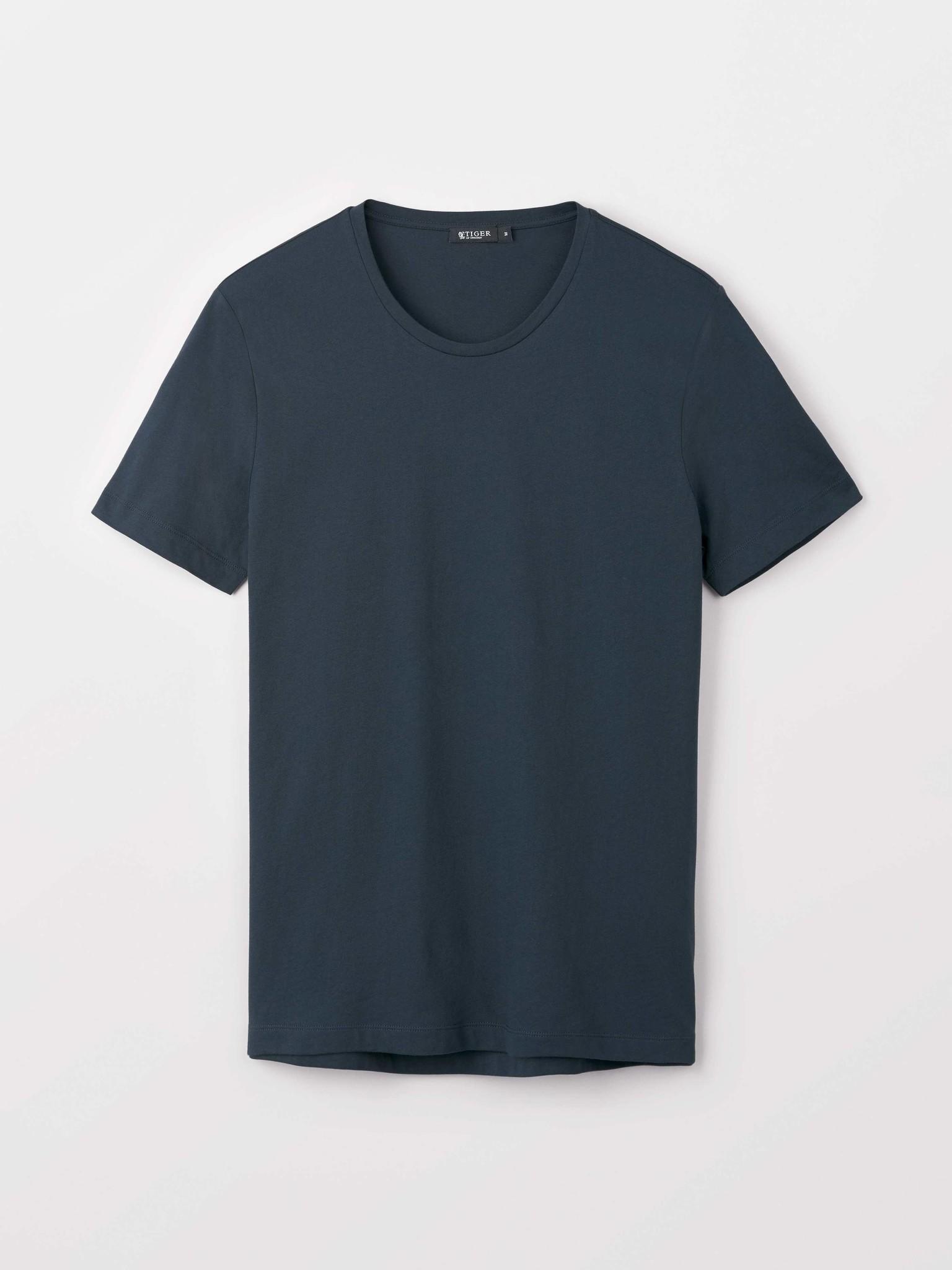 Legacy Cotton R-Neck Light Ink Blue-1