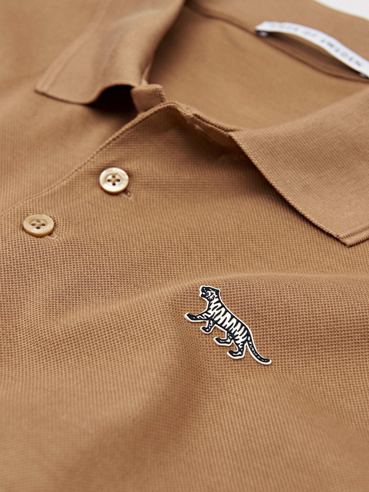 Darios Flat Collar Polo Peru Brown-2