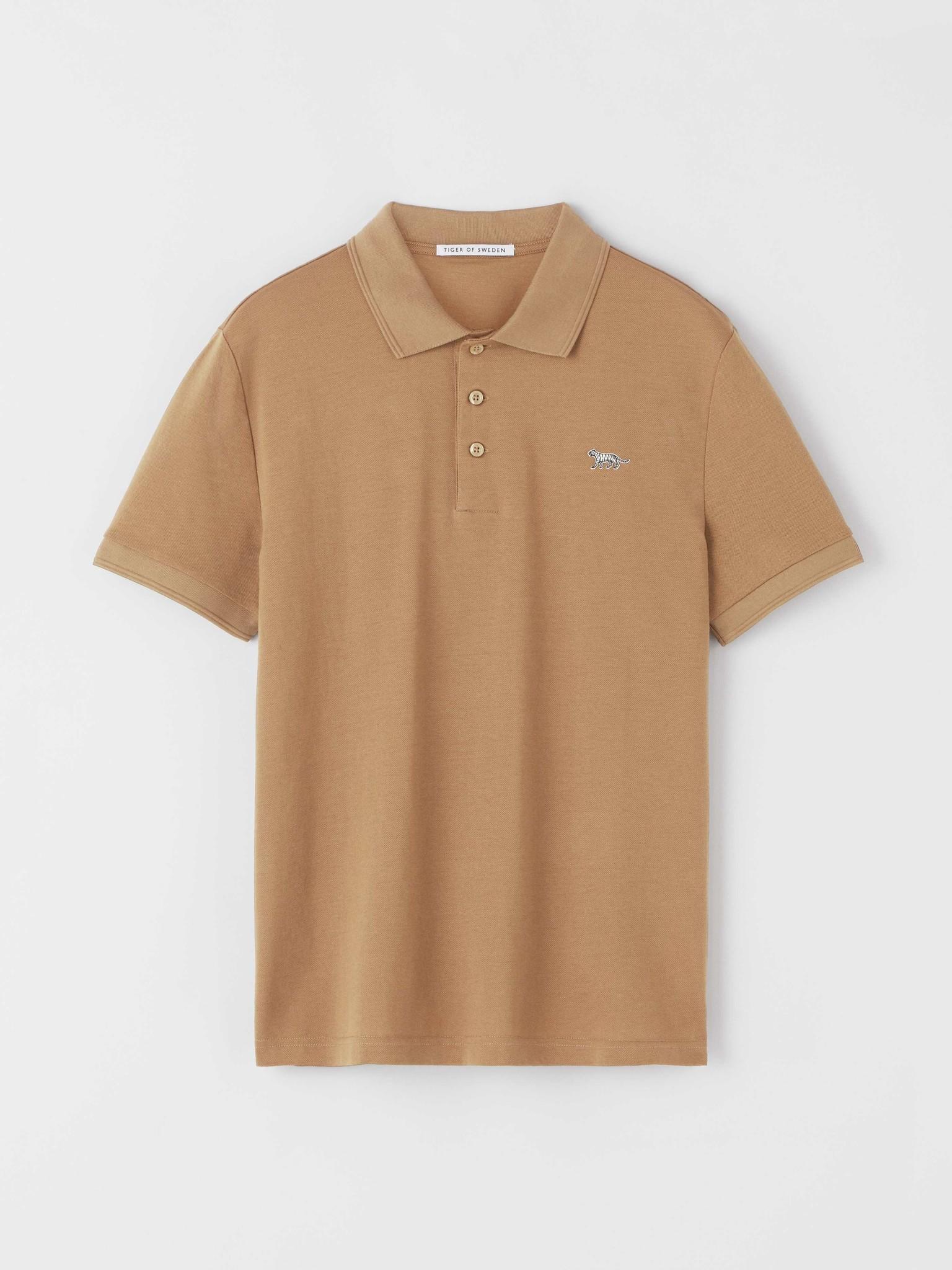 Darios Flat Collar Polo Peru Brown-1