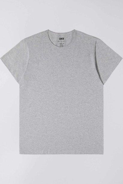 Double Pack T-shirt met ronde hals, grijs