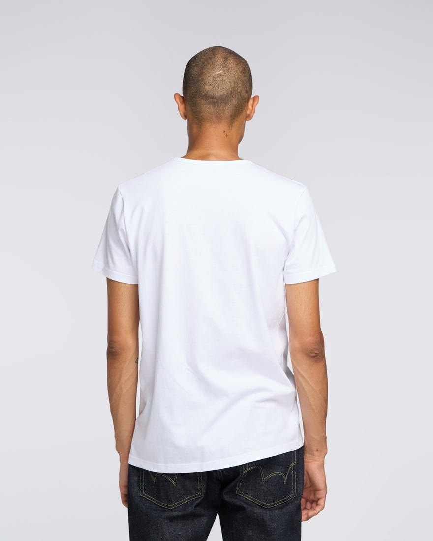 Double Pack SS T-Shirt Crew Neck White-4