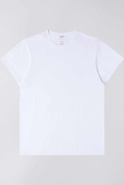Double Pack Tee Crew Neck White