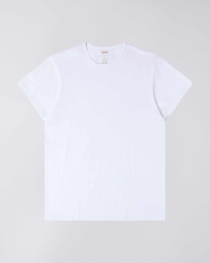 Double Pack SS T-Shirt Crew Neck White-1