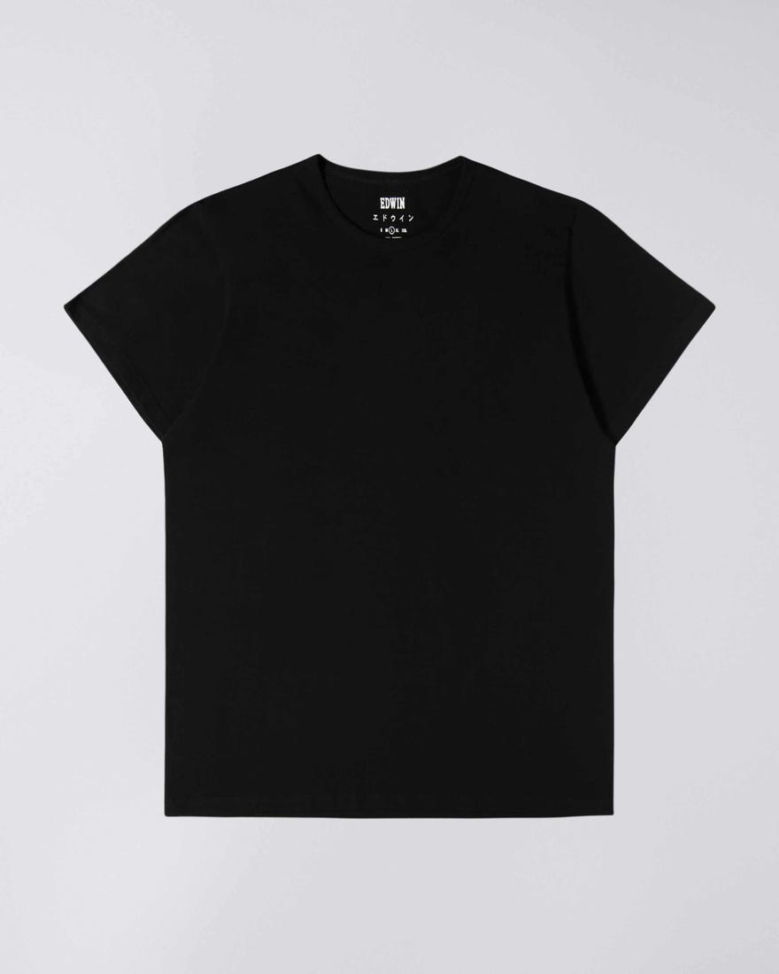 Double Pack SS T-Shirt Crew Neck Black-1