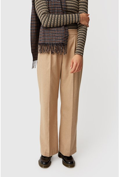 Sophie Wide Leg Trousers Khaki