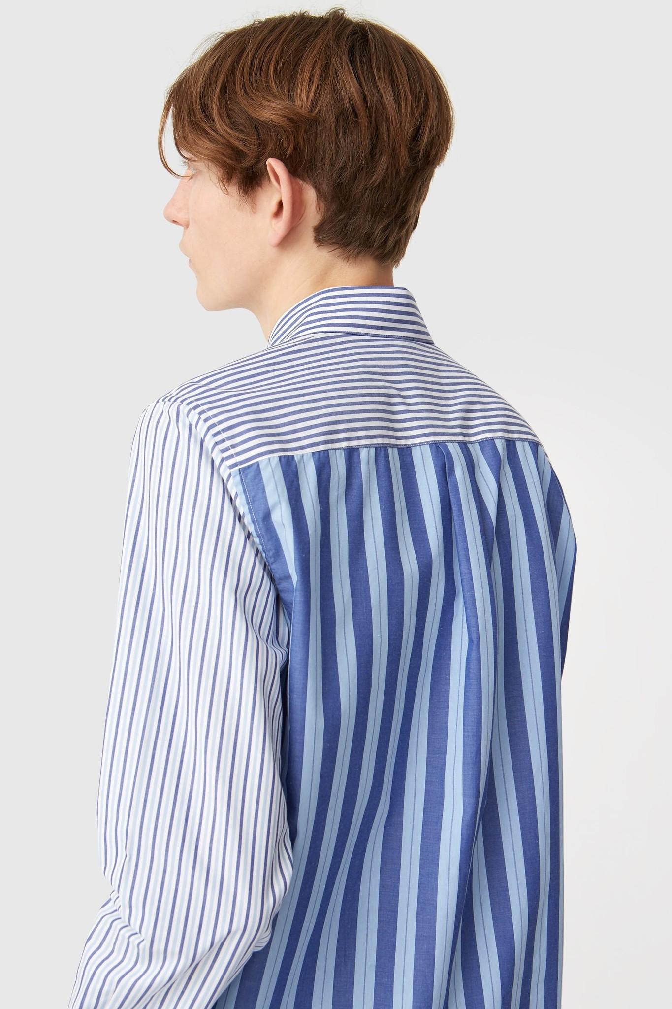 Timothy White Stripes Shirt-3