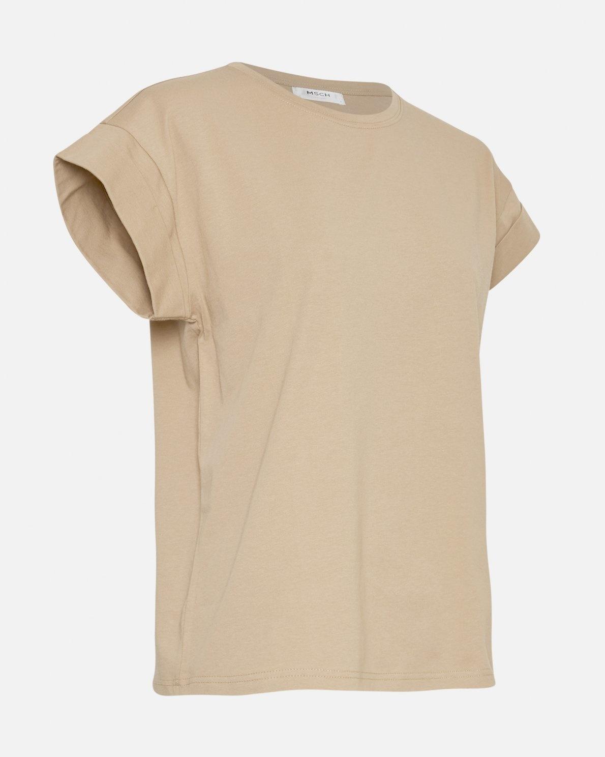 Alva T-shirt White Pepper-2