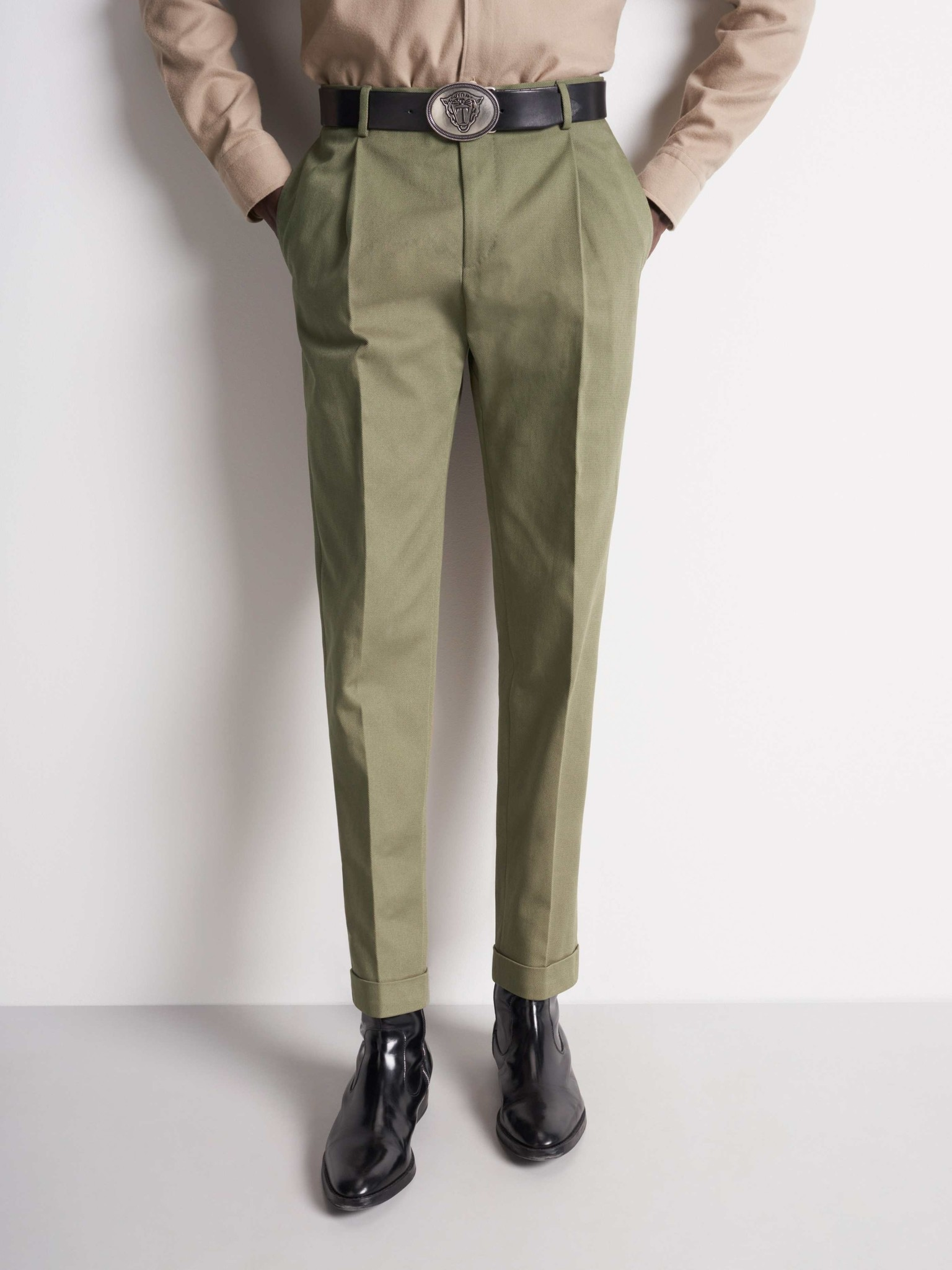 Trevor Pants Army Green-3