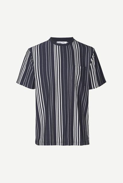Grano T-Shirt Nacht Blauw