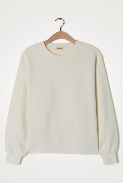 Ibowie Loose Sweatshirt Ecru White
