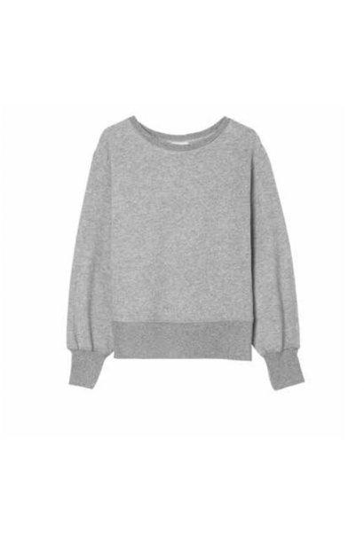 Ibowie Loose Sweatshirt Grey Melange