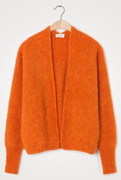 East Wool Vest Quince Orange