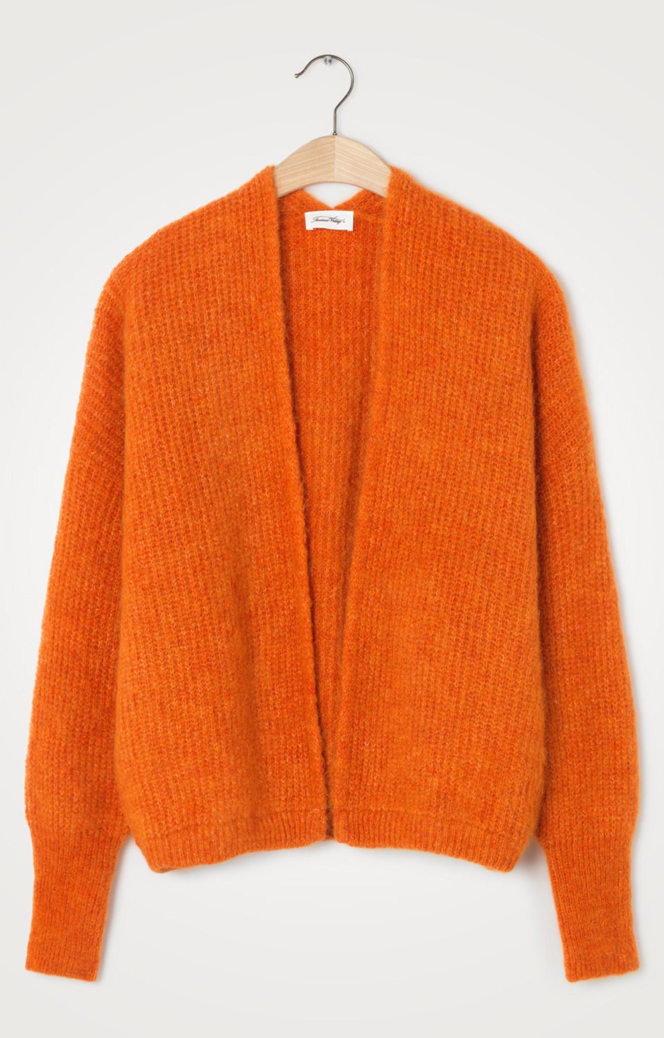 East Wool Vest Quince Orange-1