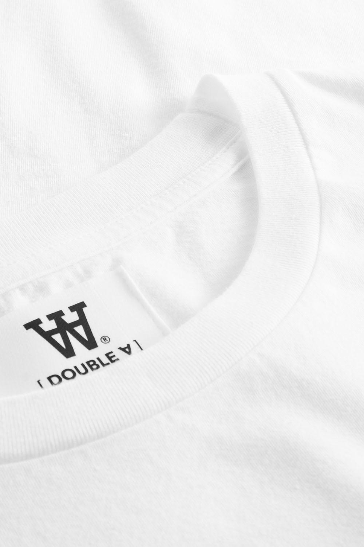Ace T-Shirt Bright White Logo Tee-4