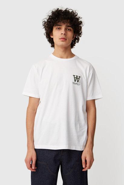 Ace T-Shirt Helderwit met Logo