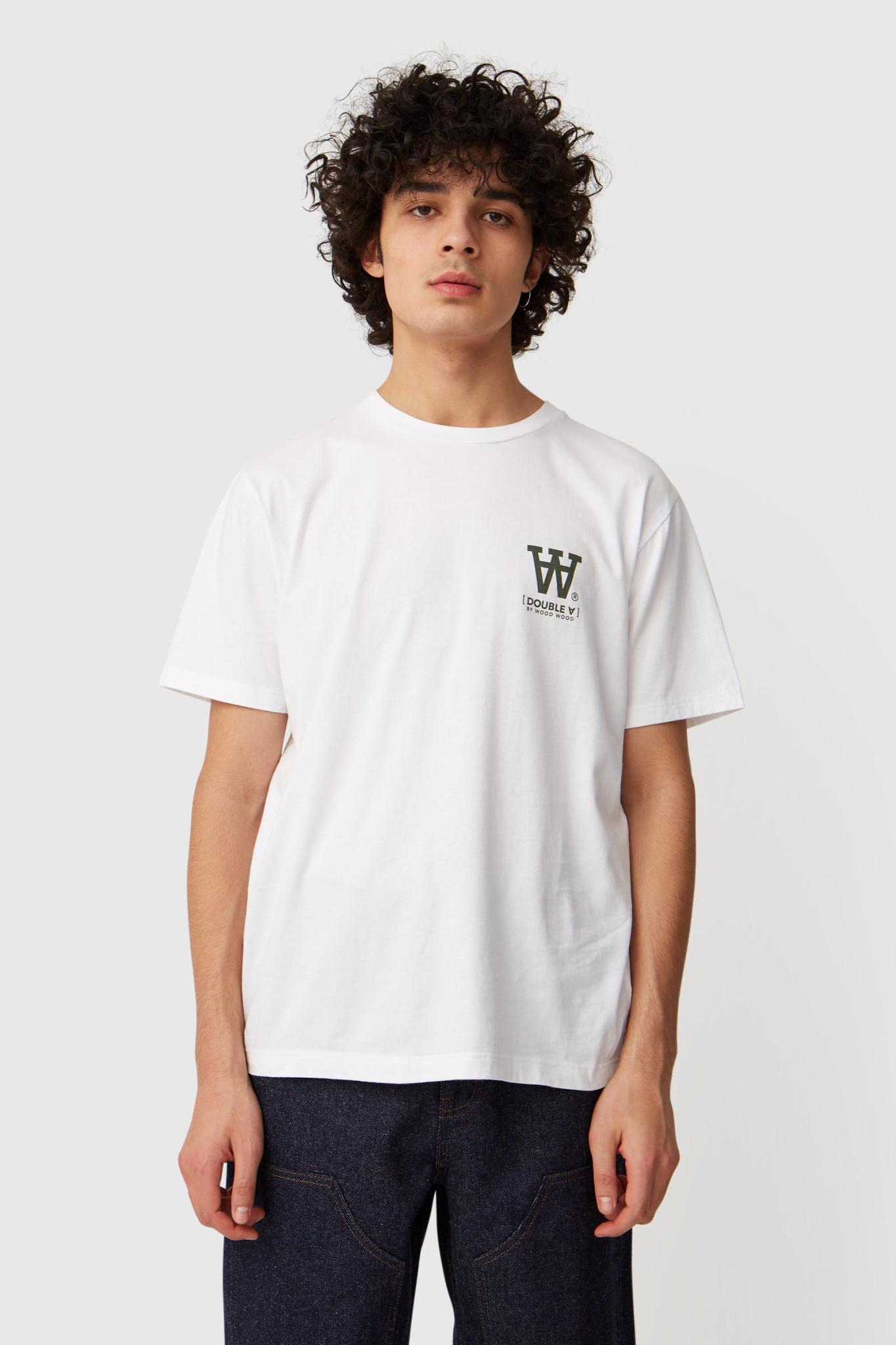 Ace T-Shirt Bright White Logo Tee-1