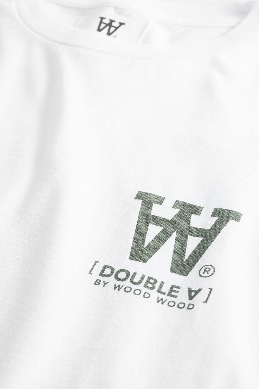 Ace T-Shirt Bright White Logo Tee-2