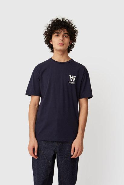 Ace T-shirt Marineblauw met Logo