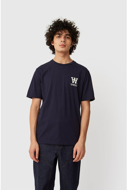 Ace T-Shirt Navy Logo Tee