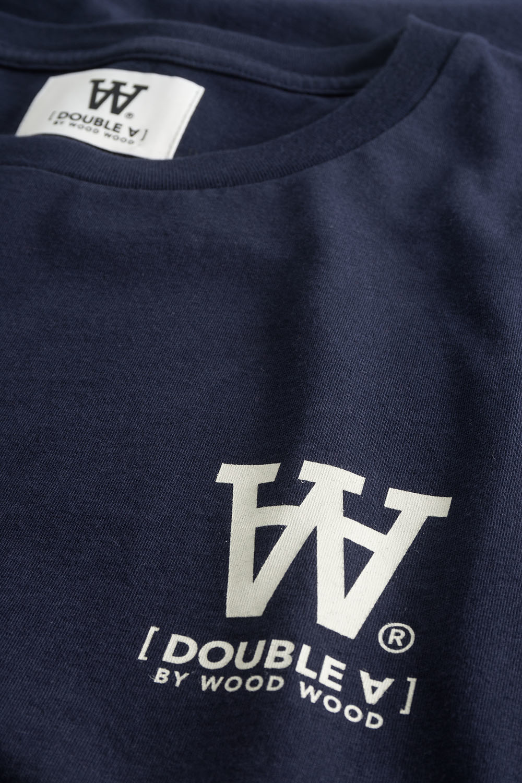 Ace T-Shirt Navy Logo Tee-2