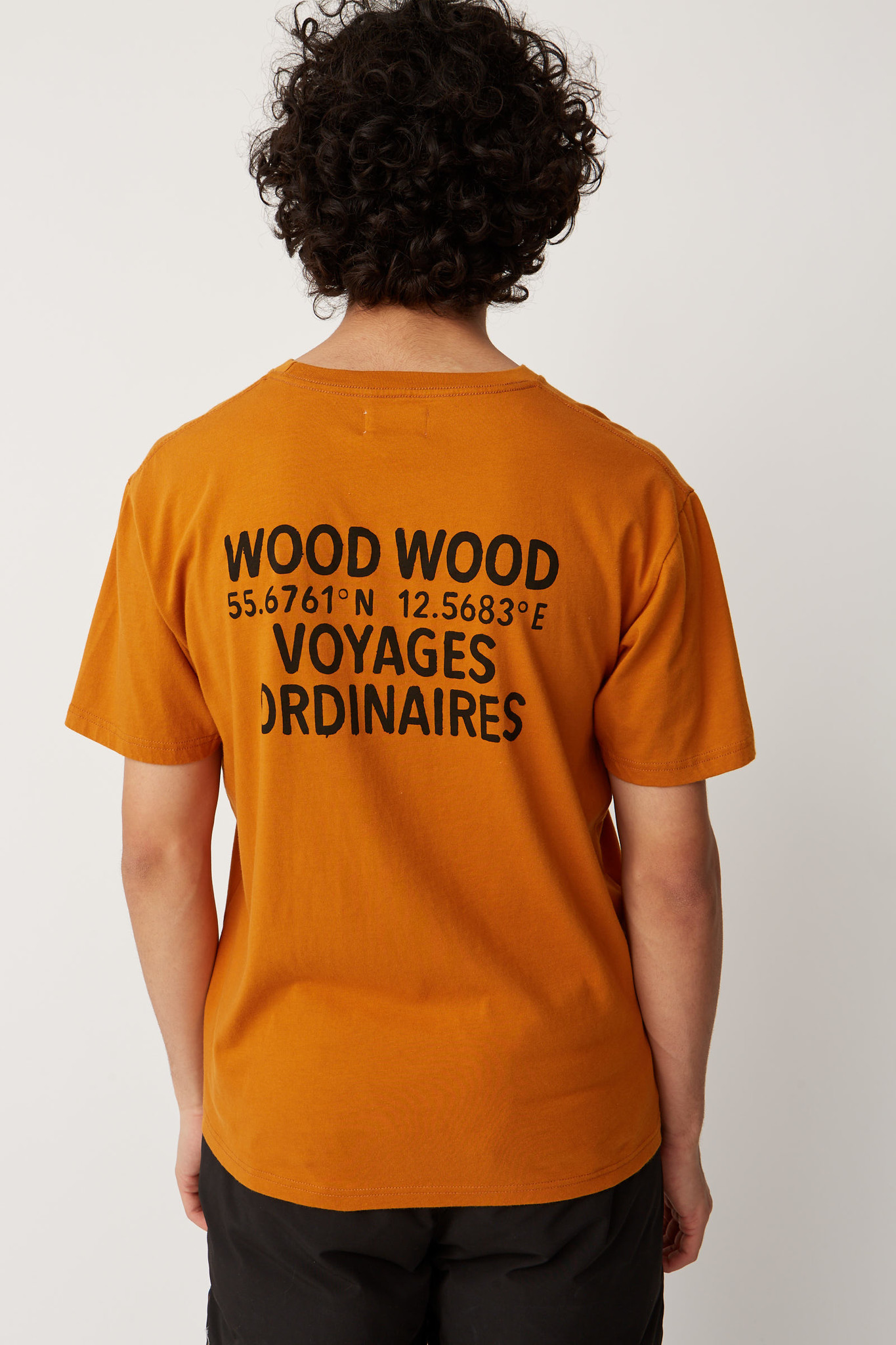 Voyages T-Shirt Orange-2